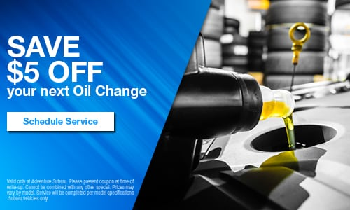 Save $5 OFF Your Next Oil Change