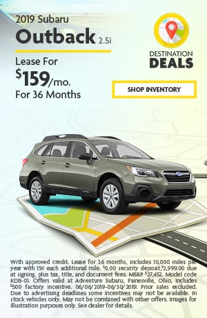 June 2019 Outback Special