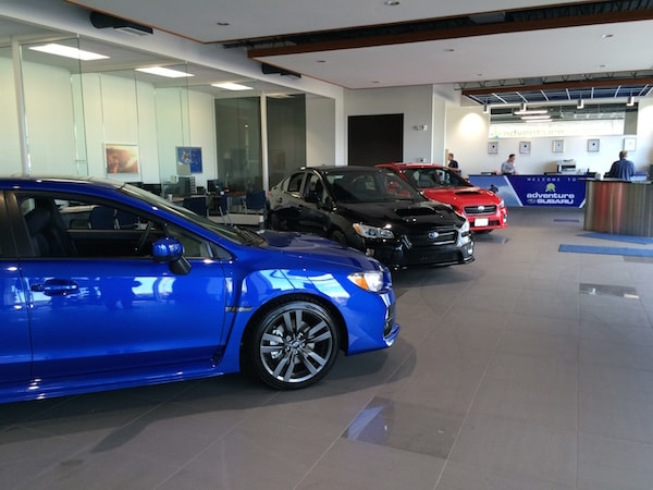 Painesville Subaru showroom