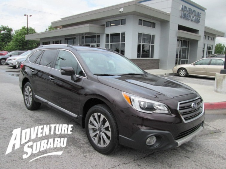 Certified Used 2017 Subaru Outback 2.5i Touring SUV In Fayetteville AR