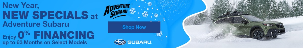 New Year, New Specials at Adventure Subaru