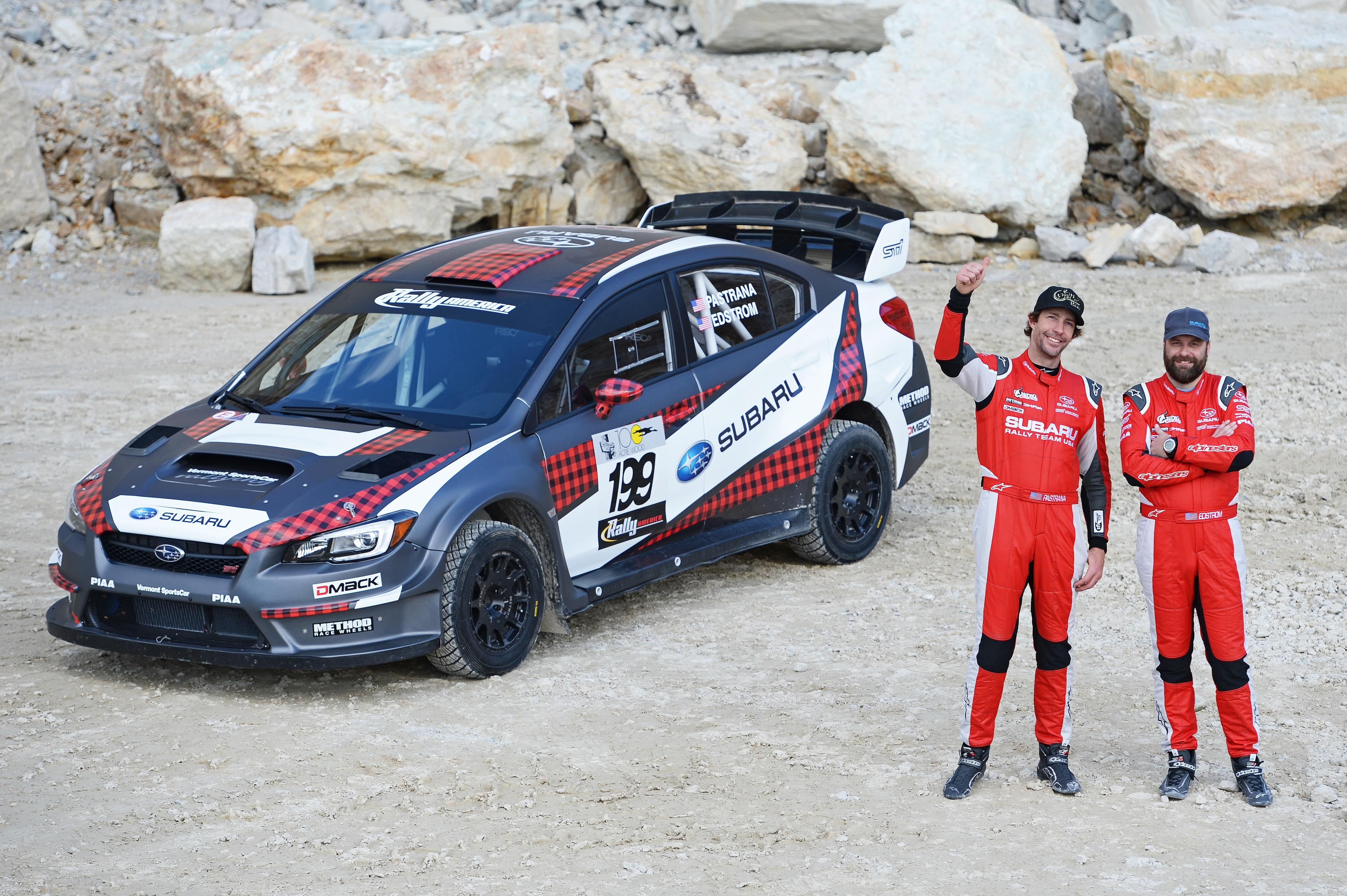 Adventure Subaru | Subaru Rally Team USA Drivers Pastrana and ...