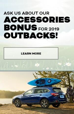 April Outback Accessory Bonus Special