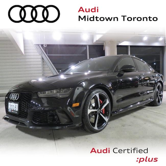 Used 2016 Audi RS 7 4.0T quattro w/ Sport Exhaust|DRC Suspension Hatchback Toronto