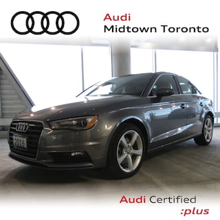 Used 2016 Audi A3 1.8T Komfort FWD w/ Audi Xenons|Pano Roof Sedan WAUA7GFF9G1097317 for sale in Toronto, ON at Audi Midtown Toronto