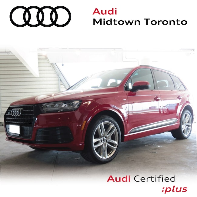 Used 2018 Audi Q7 3.0T Technik quattro w/ S line|Blk Optics|Hitch SUV Toronto