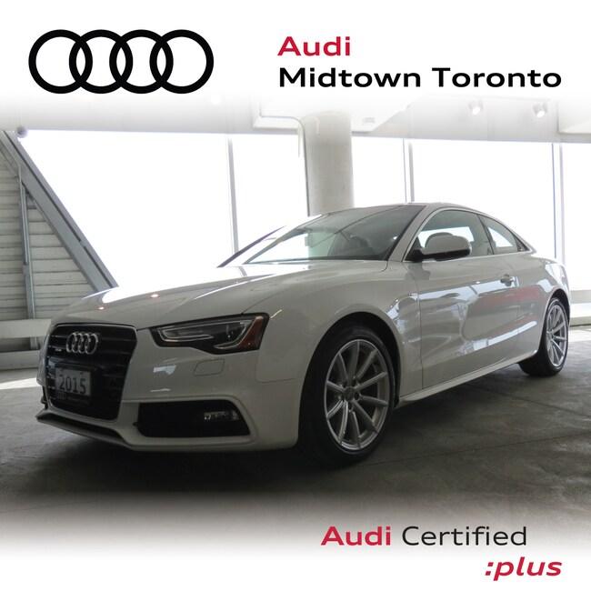 Used 2015 Audi A5 2.0T Progressiv quattro w/ Rear Cam|Navi|Adv Key Coupe Toronto
