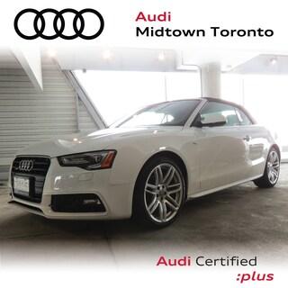 Certified 2016 Audi A5 2.0T Technik quattro w/ Sport Seats|B&O|Navi Convertible in Toronto