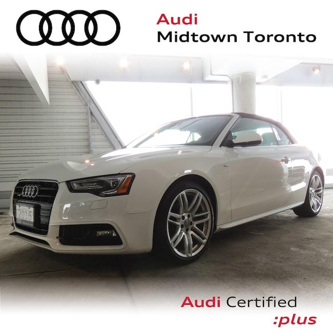 Used 2016 Audi A5 2.0T Technik quattro w/ Sport Seats|B&O|Navi Convertible Toronto