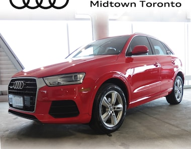 2016 Audi Q3 2.0T Progressiv quattro w/ Power Tail|Rear Park SUV