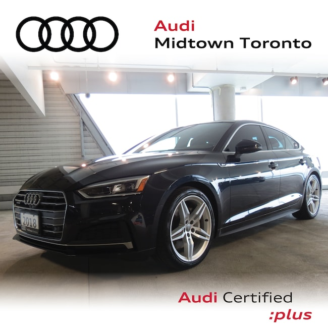 Used 2018 Audi A5 2.0T Technik quattro w/ Sport Suspension|LEDs Hatchback Toronto