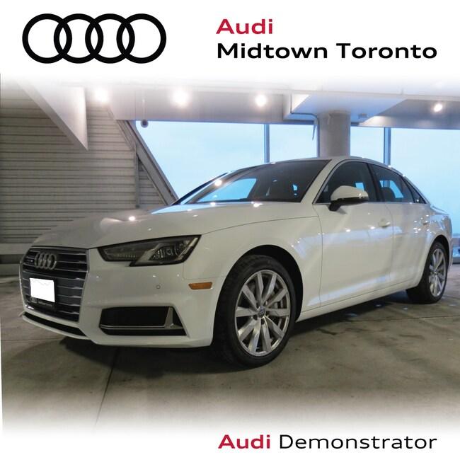 Used 2019 Audi A4 2.0T Komfort quattro w/ Rear Cam Advanced Key Sedan Toronto