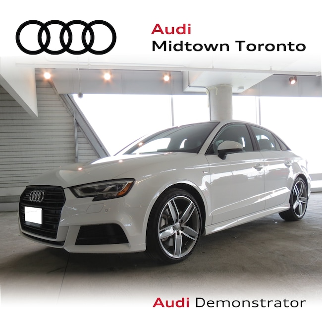 Used 2019 Audi A3 For Sale at Audi Midtown Toronto | VIN