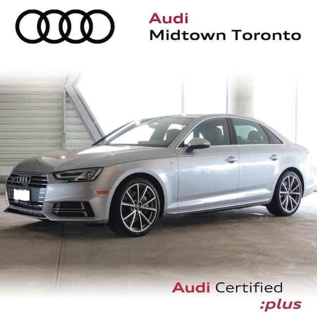 Used 2018 Audi A4 2.0T Technik quattro w/ Sport Seats|Navi|B&O Sedan Toronto