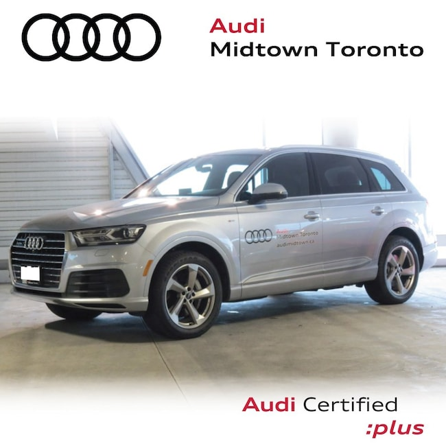 Used 2018 Audi Q7 3.0T Progressiv quattro w/ Rear Cam Audi Cockpit SUV Toronto