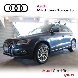 Certified 2016 Audi Q5 2.0T Technik quattro w/ Navi|Rear Cam|Pano SUV in Toronto