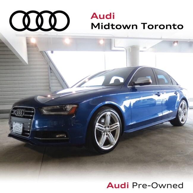 Used 2015 Audi S4 3.0T Progressiv quattro w/ Navi Carbon Inlays Sedan Toronto