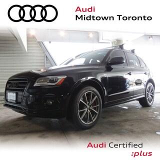 Certified 2016 Audi SQ5 3.0T Progressiv quattro w/ Navi Rear Cam Carbon SUV in Toronto