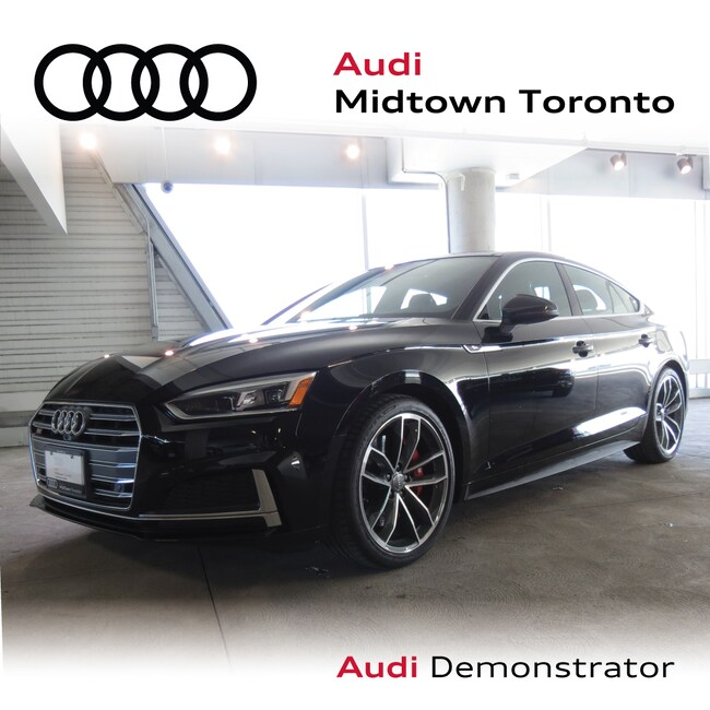 Used 2019 Audi S5 3.0T Technik quattro w/ Carbon Fiber Spoiler|Navi Sportback Toronto