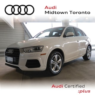 Used 2016 Audi Q3 2.0T Progressiv quattro w/ Rear Park|Pano Roof SUV WA1JFCFS6GR000677 for sale in Toronto, ON at Audi Midtown Toronto