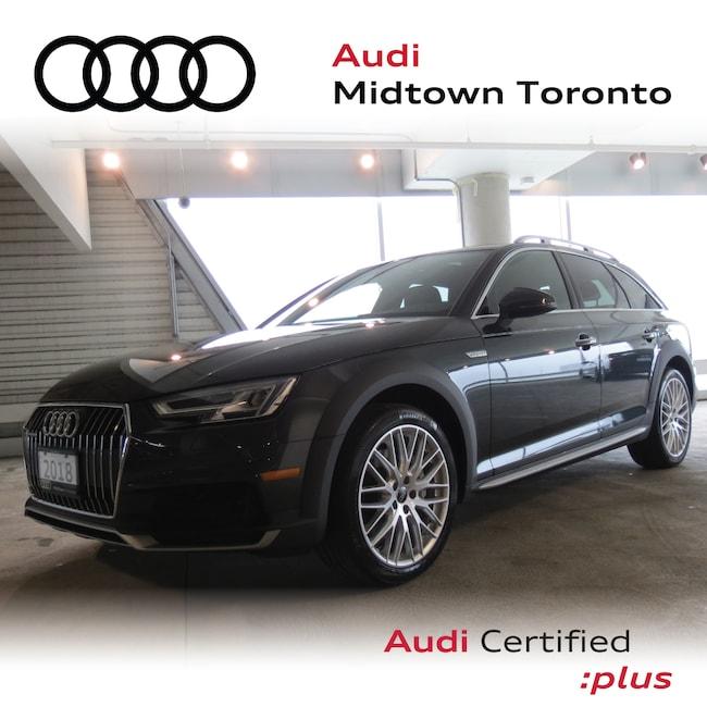 Used 2018 Audi A4 allroad 2.0T Technik quattro w/ Lane Assist|Sport Seats Wagon Toronto