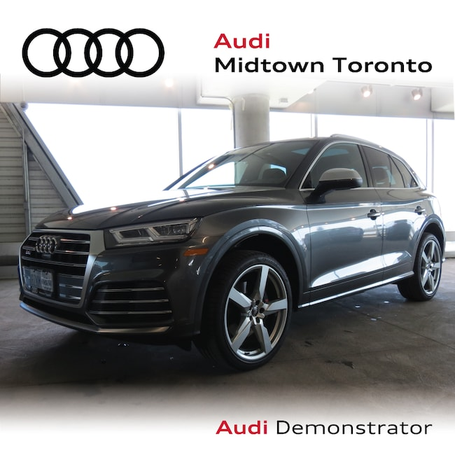 Used 2019 Audi SQ5 3.0T Technik quattro w/ Sport Diff Audi Connect SUV Toronto