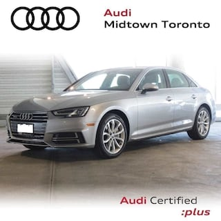 Certified 2018 Audi A4 2.0T Progressiv quattro w/ Navi Rear Cam HomeLink Sedan in Toronto