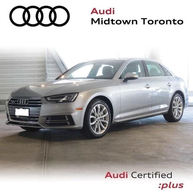 Used 2018 Audi A4 2.0T Progressiv quattro w/ Navi Rear Cam HomeLink Sedan Toronto
