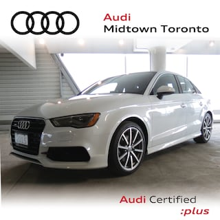 Certified 2015 Audi A3 2.0T Progressiv quattro w/ LEDs|Sport Seats Sedan in Toronto