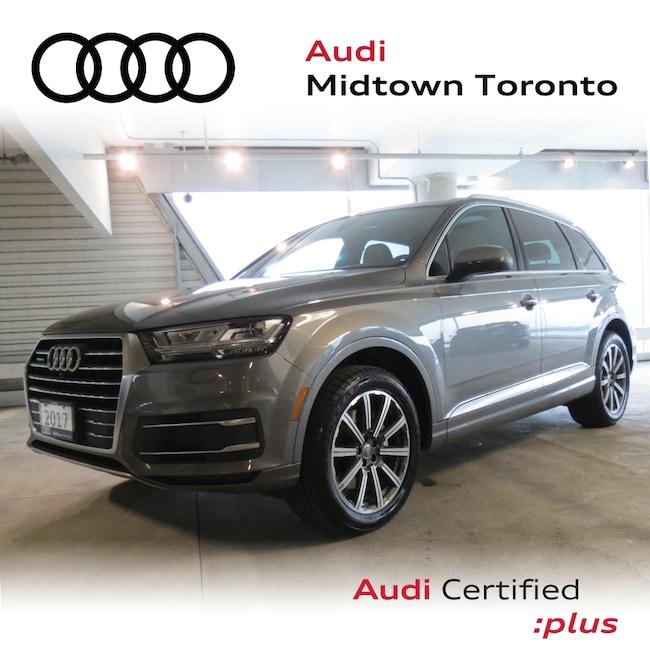 Used 2017 Audi Q7 3.0T Technik quattro w/ Oak Inlays Navi Rear Cam SUV Toronto