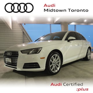 Certified 2017 Audi A4 2.0T Progressiv quattro w/ Navi Rear Cam HomeLink Sedan in Toronto