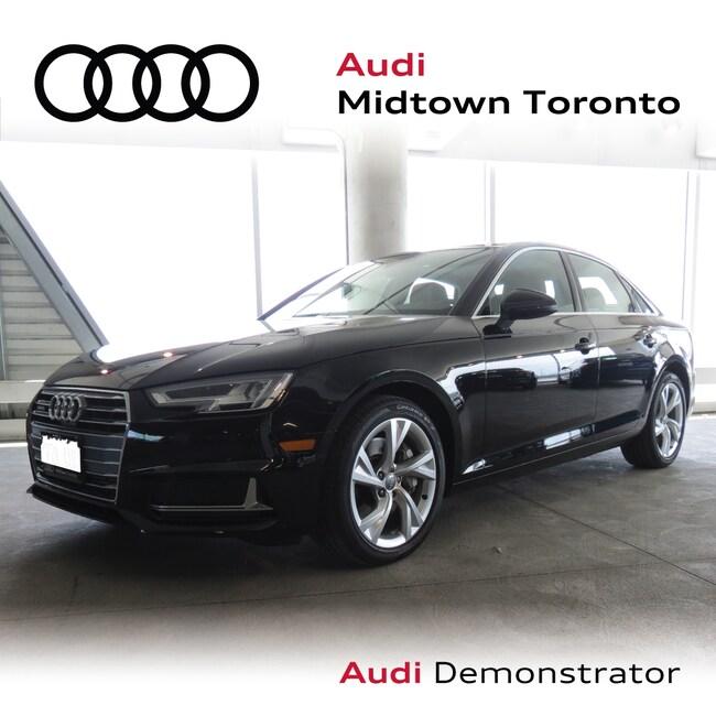 Used 2019 Audi A4 2.0T Progressiv quattro w/ Rear Cam LEDs Navi Sedan Toronto