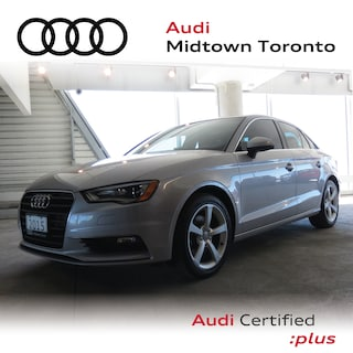 Used 2015 Audi A3 1.8T Komfort FWD w/ Audi Xenons|Pano Roof Sedan WAUACRFF2F1002795 for sale in Toronto, ON at Audi Midtown Toronto
