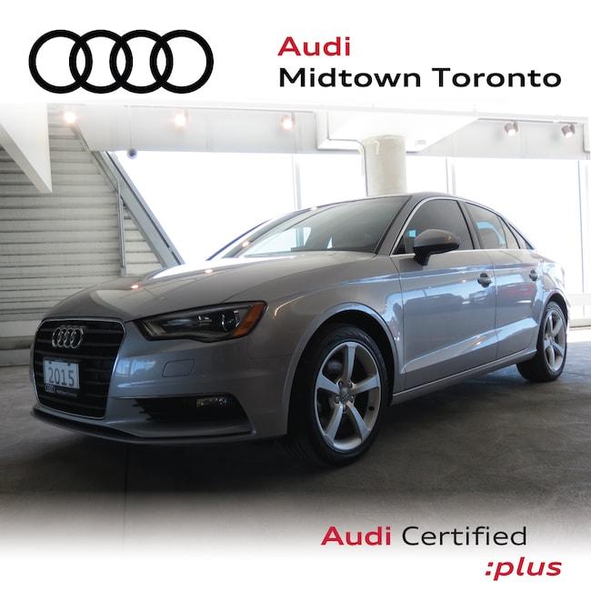 Used 2015 Audi A3 1.8T Komfort FWD w/ Audi Xenons Pano Roof Sedan Toronto