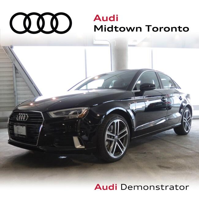 Used 2019 Audi A3 2.0T Technik quattro w/ Audi Phonebox|Navi Sedan Toronto