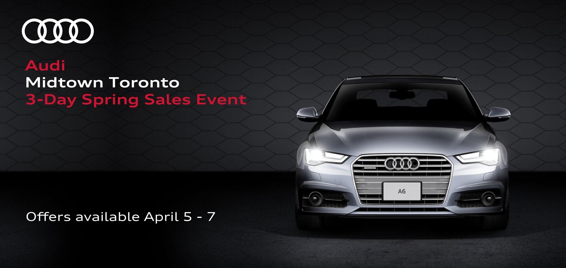 Audi Midtown Toronto New Audi Dealership In Toronto ON MJ R - Day audi