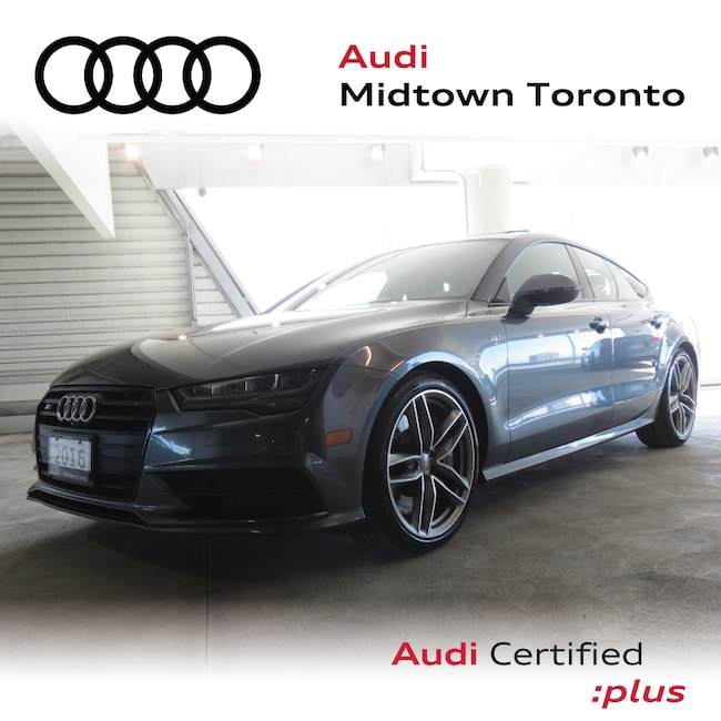 Used 2016 Audi S7 4.0T quattro w/ Black Optics|Massage Seats|BOSE Hatchback Toronto