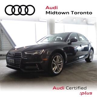 Certified 2018 Audi A4 2.0T Technik quattro w/ Virtual Cockpit|B&O 3D Sedan in Toronto