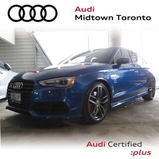 Certified 2016 Audi S3 2.0T Technik quattro w/ Audi Magnetic Ride Navi Sedan in Toronto