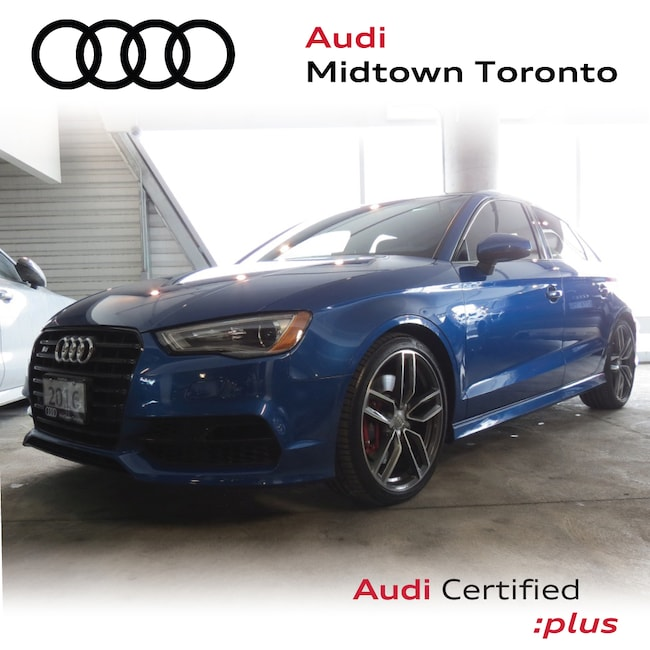Used 2016 Audi S3 2.0T Technik quattro w/ Audi Magnetic Ride|Navi Sedan Toronto
