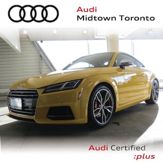 Certified 2017 Audi TTS 2.0T quattro w/ Rear Cam|Navi|HomeLink Coupe in Toronto