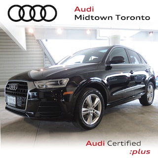 Used 2016 Audi Q3 2.0T Progressiv quattro w/ Power Tailgate|Pano SUV WA1JFCFS8GR012068 for sale in Toronto, ON at Audi Midtown Toronto