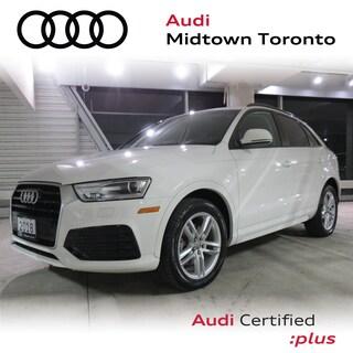 Certified 2018 Audi Q3 2.0T Komfort FWD w/ Power Tailgate|AMI SUV in Toronto