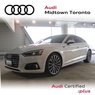 Certified 2018 Audi A5 2.0T Technik quattro w/ Sport Seats|Lane Assist Sportback in Toronto