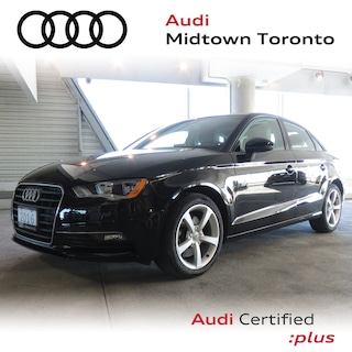 Used 2016 Audi A3 1.8T Komfort FWD w/ Pano Roof|Bluetooth|Alloys Sedan WAUA7GFFXG1058753 for sale in Toronto, ON at Audi Midtown Toronto