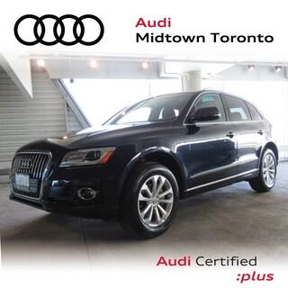 Certified 2017 Audi Q5 2.0T Progressiv quattro w/ Rear Cam|Pano|Adv Key SUV in Toronto
