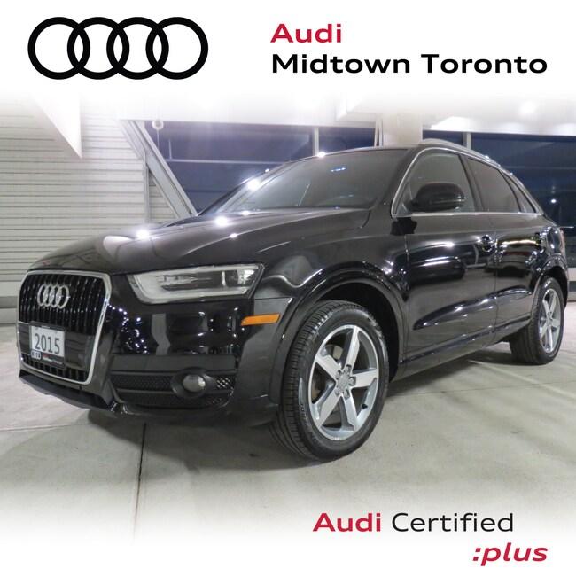 Used 2015 Audi Q3 2.0T Progressiv quattro w/ Navi Rear Park Pano SUV Toronto