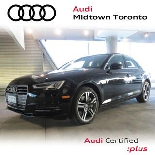 Certified 2017 Audi A4 2.0T Technik quattro w/ Oak Inlays Sport Seats Sedan in Toronto
