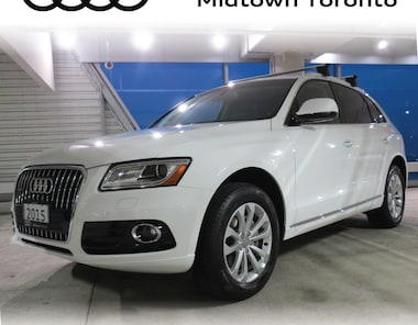 2015 Audi Q5 2.0T Progressiv quattro w/Panoramic Roof|Adv Key SUV