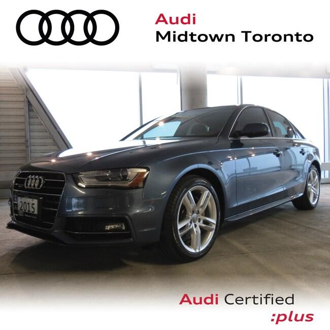 Used 2015 Audi A4 2.0T Technik quattro w/ Rearm Cam|Navi|B&O Sedan Toronto